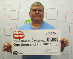 Franck Sandoval - $1,000 Mega Mondays