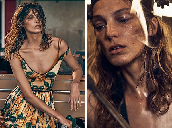 Daria Werbowy By Mikael Jansson For Porter Fall 2015