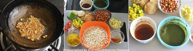 How to make Sukha Bhel Recipe - Step1