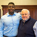 Trevon Sanders visits Mayor Summey