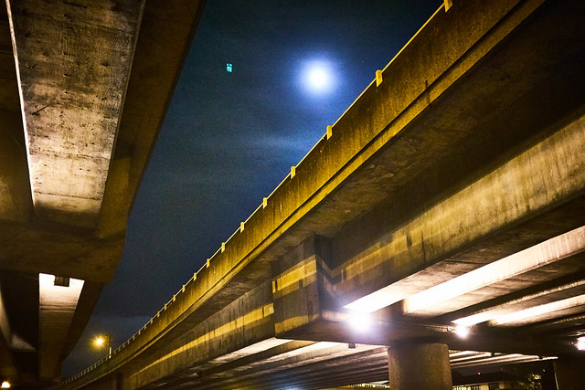 Full Moon, Under the Eastway