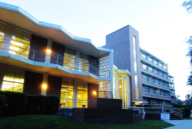 Jennings Hall at dawn 6357