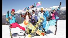 Горнолыжные курорты Сочи в новогодние праздники посетило 355 тысяч человек