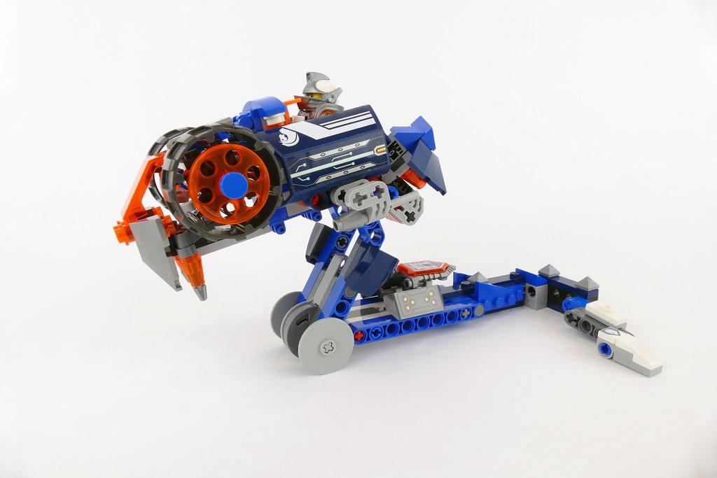 Lance's Cobra - LEGO Nexo Knights 70312 Alternate MOC
