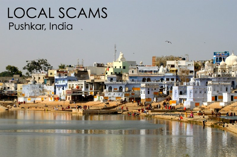 Scams in Pushkar, India