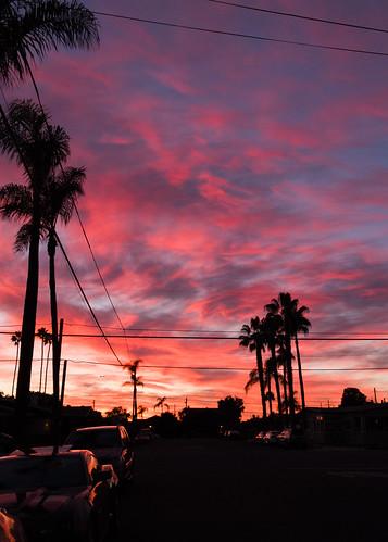 sandiego sunset california unitedstates