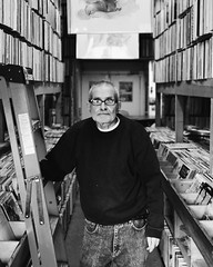 Henry the Archivist. Anyone looking for an old school vinyl shop head here. Since 1974 this guy has been archiving the overwhelming library of records at this store and the owner is another complete character worth talking vinyl to. They dug through the s