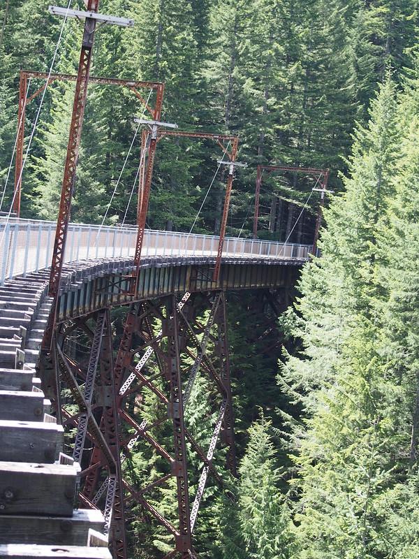 John Wayne Pioneer Trail Trestle