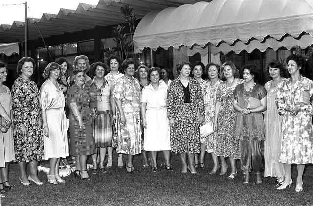 Chá oferecido pela 1ª Dama as Senhoras da 19ª Convenção Nacional do Comércio Lojista