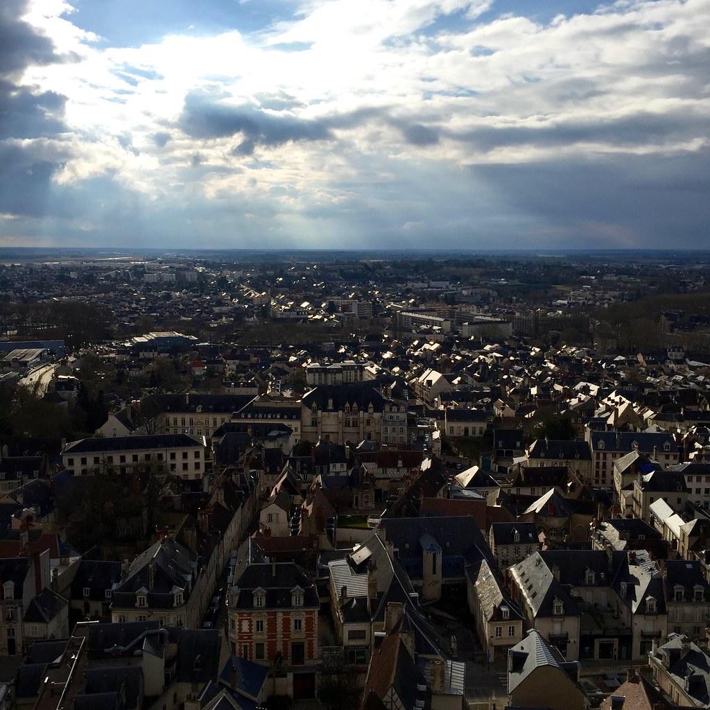 Bourges, depuis la cathédrale