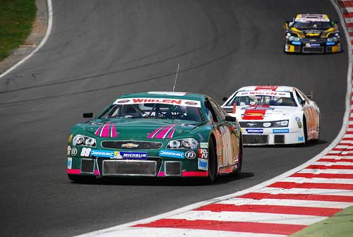 Simone Monforte, Freddy Nordström, Nascar Whelen Euro Series, American SpeedFest III, Brands Hatch 2015
