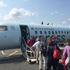 Goodbye @torontopearson nextcstop St John, NB. #30DaysInNB is getting reaper by the flight @seenewbrunswick @ganongbros