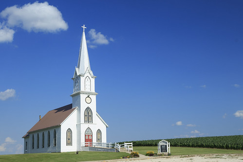 summer church rural midwest day religion iowa clear lutheran whitechurch