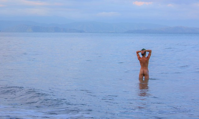Why Swimming in the Sea Supports Healing With Morning Beach Swim