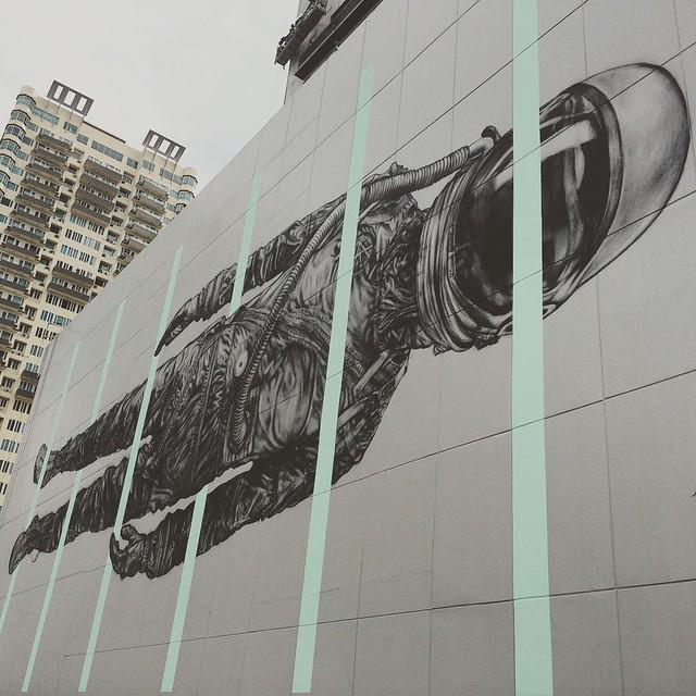 Art attack! #ArtBGC #streetartPH