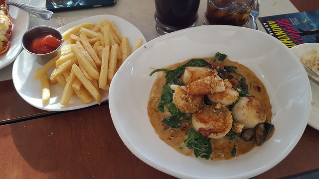 Scallops and French Fries