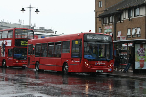 Stagecoach London 36266 on Route 499, Romford Station