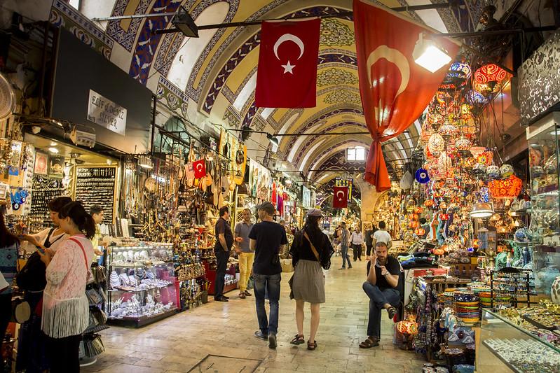 Kapali Carsi - Grand Bazaar in Istanbul, Turkey