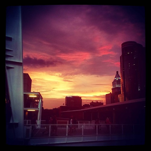 One more... #Dusk in #Cincinnati