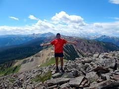 climbing Mount Sopris, CO - 17