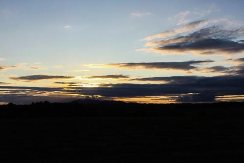 Knockmealdown sunset