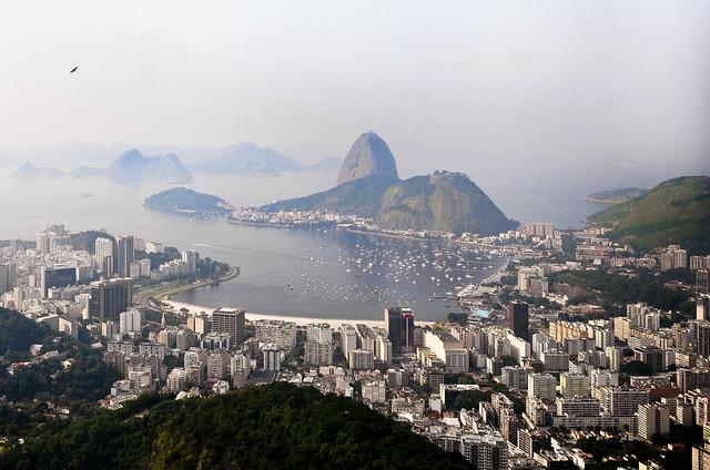 Rio de Janeiro desde el Cristo Rey
