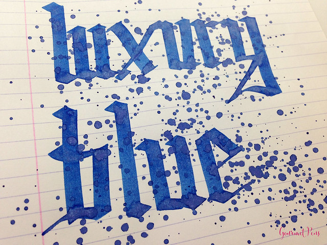 Ink Shot Review Noodler's Luxury Blue @CarolLuxury (6)