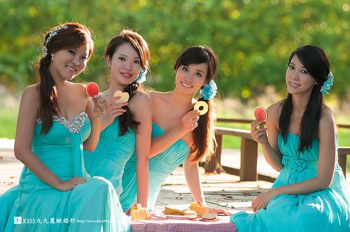 高雄KISS九九麗緻婚紗~跟閨蜜一起拍婚紗!紀念我們逝去的青春… (15)