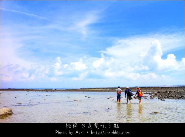 [澎湖]吉貝島潮間帶之石滬抱墩之旅