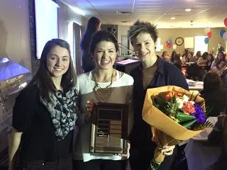 2015 AA Ringette Service Award - Lindsey Lovse