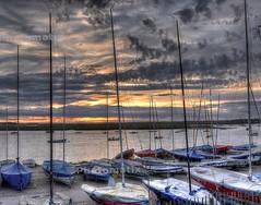 HDR Sunset over Aldeburgh