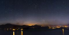 Panorámica desde el mirador Morelos, lago de Janitzio