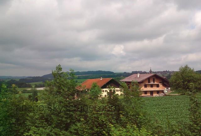 オーストリアからドイツに