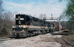 1981 04-04 1300 SOU SD45-3117 S/B Clifton, VA