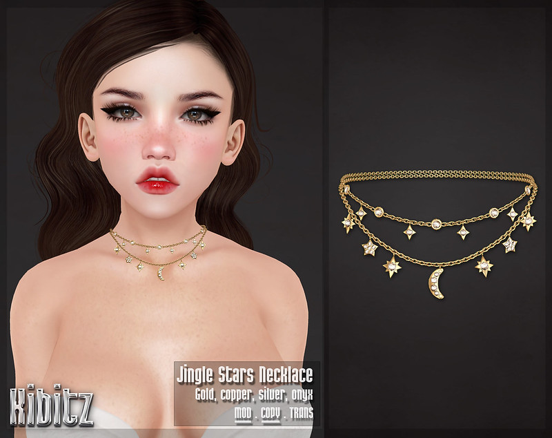 kibitz jingle stars necklace vendor