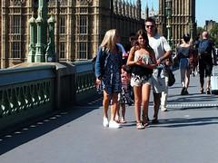 Westminster Bridge Tourists