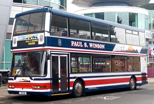 T8 PSW 'Paul S. Winson' No. 115 Dennis Trident / East Lancs Lolyne on 'Dennis Basford's railsroadsrunways.blogspot.co.uk'