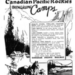 Fri, 2017-01-20 06:47 - Canadian Pacific Rockies Bungalow Camps 1922