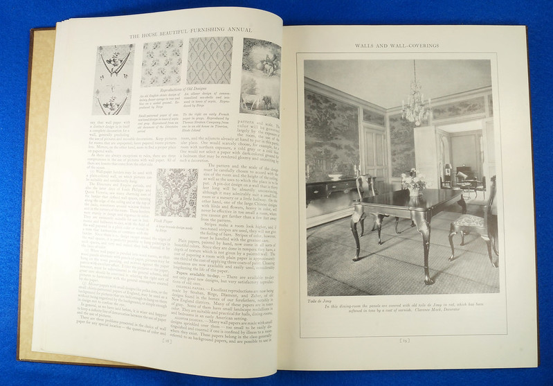 RD1041 1926 The House Beautiful Furnishings Annual Atlantic Monthly Company Interior Design DSC08675