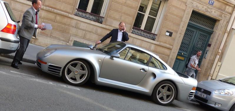 Porsche 961 aperçue dans Paris 18728433479_086c24c146_c