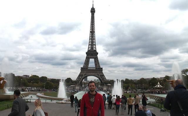 zaid at eiffel tower