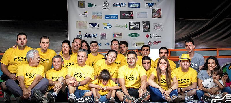 Foto de los participantes en el acto de presentaci�n de la iniciativa
