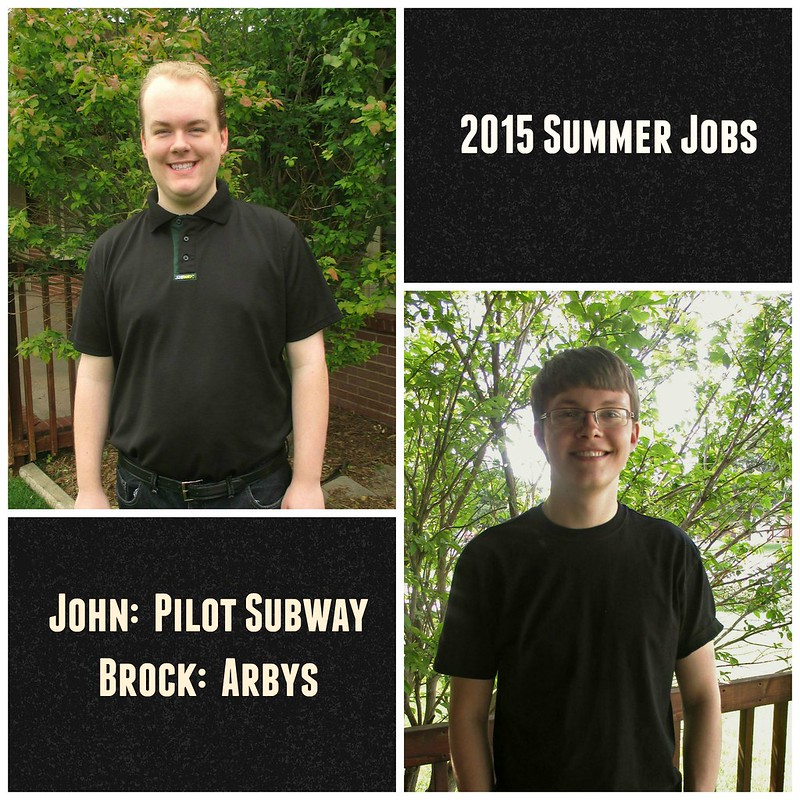 Summer Job Collage with text