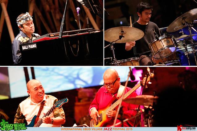 Ubud Village Jazz Festival 2015 - Dwiki Dharmawan (2)