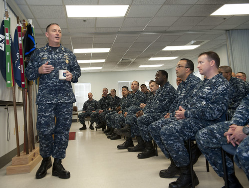 'Two Gun Zum' Sailors Conduct CPO 365 with MCPON
