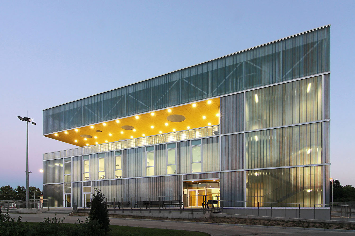 Sports Hall in Poznan design by Neostudio Architekci