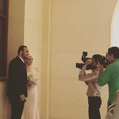 An Egyptian couple married at Field Marshal #Tantawy in New #Cairo #DailyLifeCairo #Weddings #Citizenjournalism #Blogger