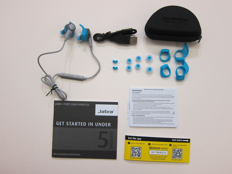 Jabra Sport Coach - Box Contents