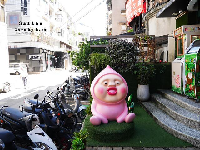台北東區主題餐廳醜比頭的秘密花園輕食咖啡屁桃 (3)