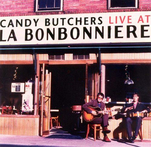 Candy Butchers Live at La Bonbonniere CD Cover Retro Roadmap